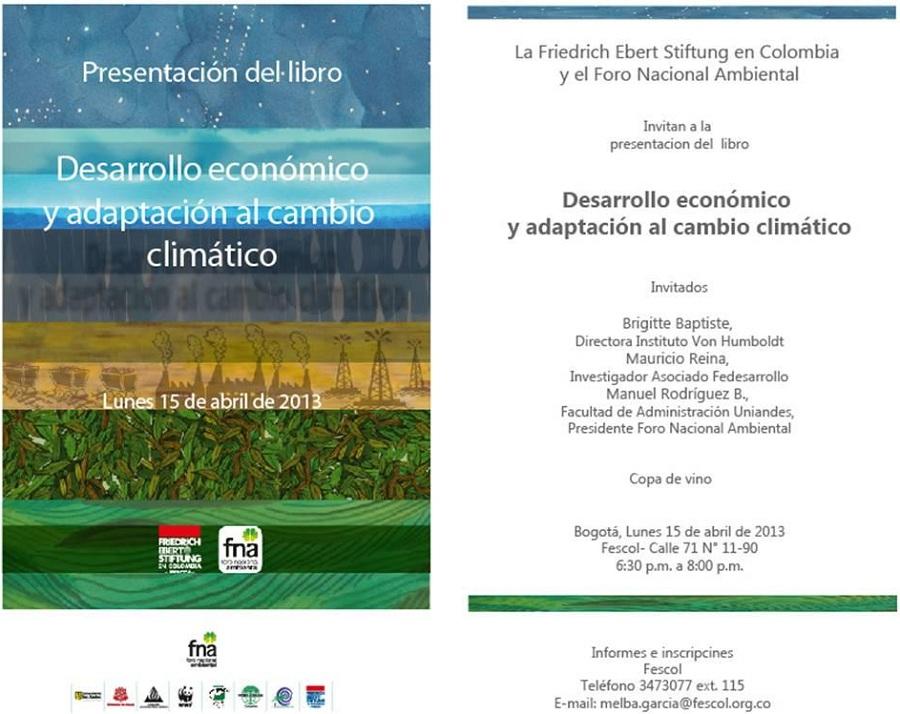desarolloeconomicoycambioclimaticoEvento2013